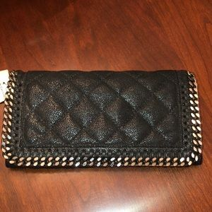 Stella McCartney quilted wallet